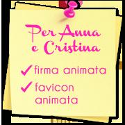 Per Anna e Crisitina