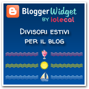 divisori estivi per blog